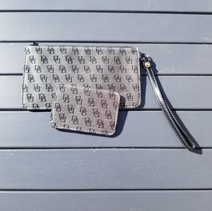 Dooney and wristlet and card case